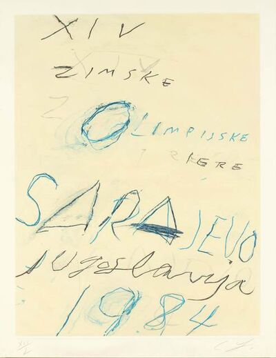 Cy Twombly, 'Untitled', 1983