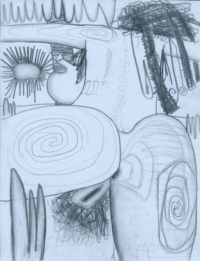 Carroll Dunham, 'Untitled (4/27/10)', 2010
