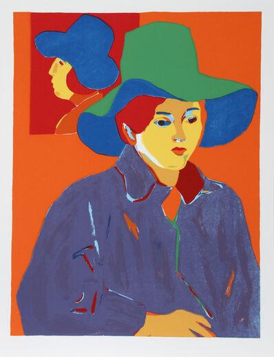 John Grillo, 'Blue Hat', 1978