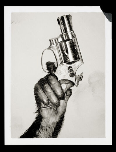 Albert Watson, 'Monkey with Gun', 1992