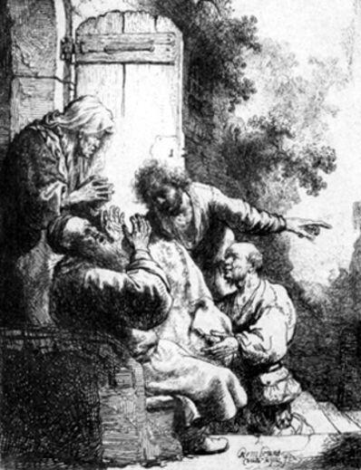 Rembrandt van Rijn, 'Joseph's Coat Brought to Jacob', 1633