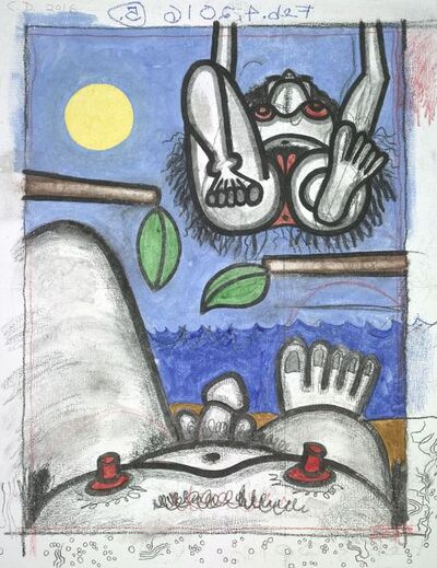 Carroll Dunham, 'Untitled, Feb. 4, 2016 #1', 2016
