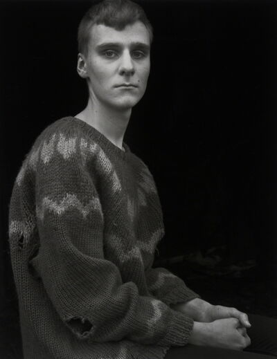 Agnieszka Sosnowska, 'Arnar in the Borrowed Sweater, Djúpivogur, !celand', 2015
