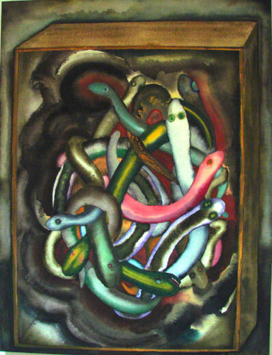 Sandra Moore, 'Snakes in a Cabinet ', 2018
