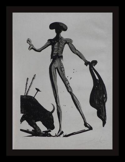 Salvador Dalí, 'Torero Noir', 1969