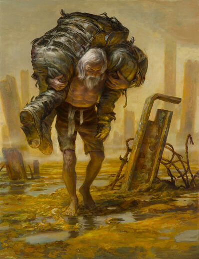Donato Giancola, 'Burdens from the Past', 2018