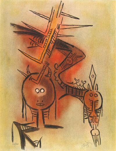 Wifredo Lam, 'Belle Épine', 1974