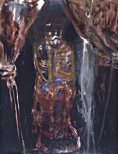 Julian Schnabel, 'Man of Sorrow (The King)', 1983