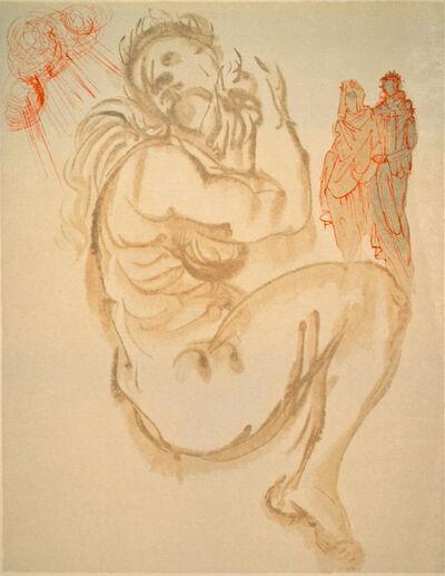 Salvador Dalí, 'Dante's Dream, canto Purgatorio 19, The Divine Comedy', 1960