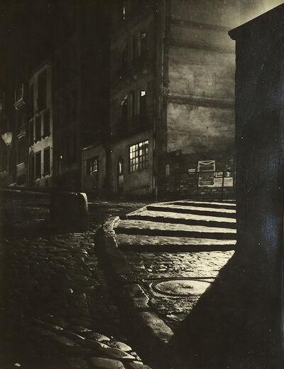 Maurice Georges Chanu, 'Rue Des Saules, Paris', ca. 1950