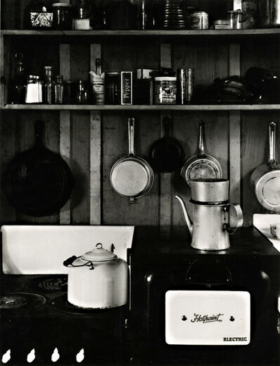 Beaumont Newhall, 'Edward Weston's Kitchen', 1930; printed ca. 1983