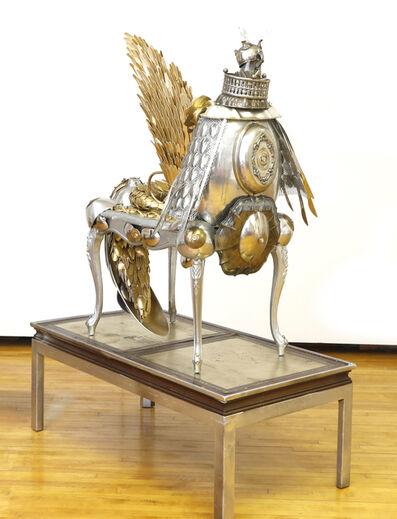 Sasha Meret, 'Armoured Centaurus Pegasus Thinking', 2017