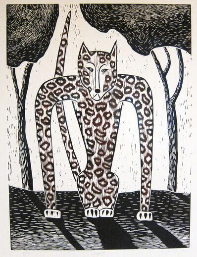 Judy Kensley McKie, 'Leopard', 1990