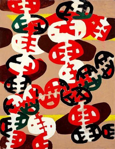 Giuseppe Capogrossi, 'Superficie 9 (Incroci)', 1951