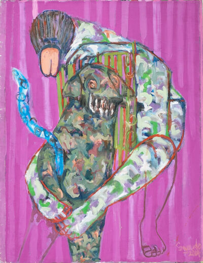 Gresham Tapiwa Nyaude, 'Dog's Life Pt 1', 2015