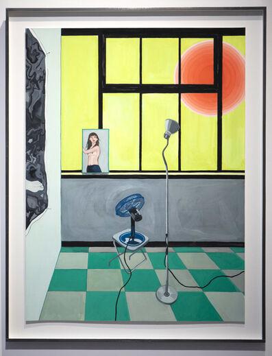 Camille Brès, 'Le réchauffement climatique de mon atelier', 2019