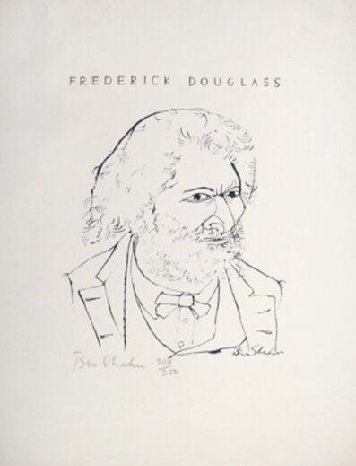 Ben Shahn, 'Frederick Douglass, IV', 1965