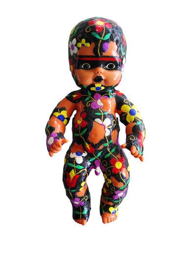 Barry Ace, 'Abinoojiyens Ogichidaa (Baby Warrior) ', 2016