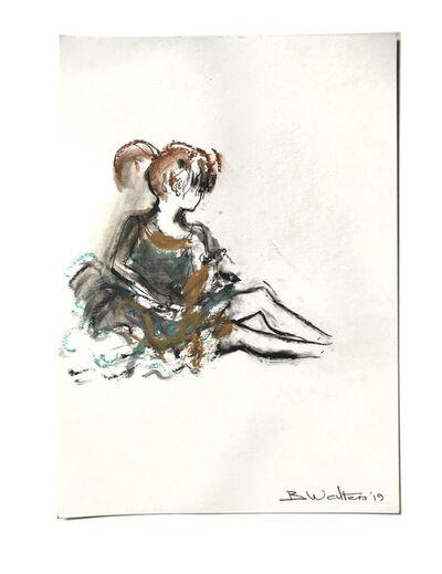 Bonnie Walters, 'Ballerina sitting', 2019