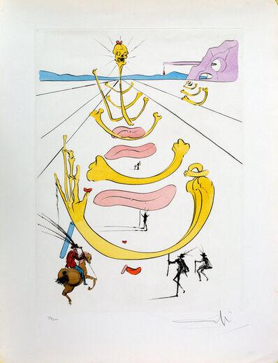 Salvador Dalí, 'Masque De La Mort', 1975