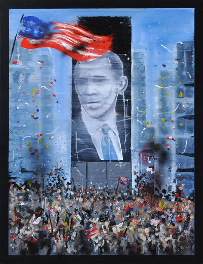 Stéphane Pencréac'h, 'November 4th 2008 - Obama', 2015
