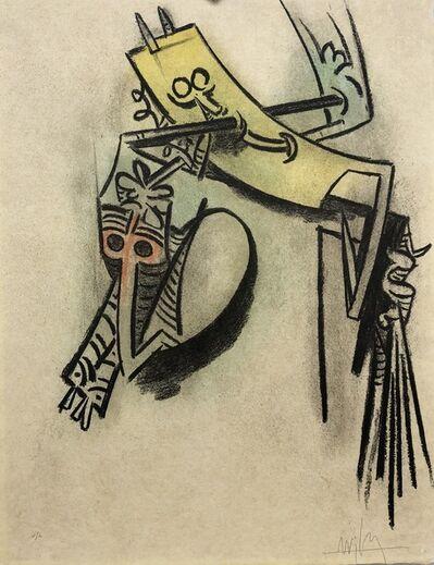"""Wifredo Lam, '""""Montée des séves""""', 1974"""