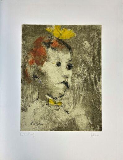 Jack Levine, 'Lotte Lenya', 1967