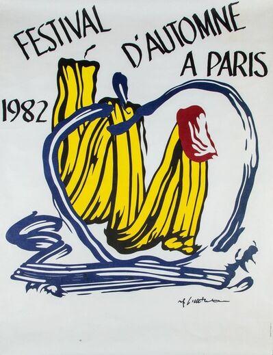 Roy Lichtenstein, 'Festival d'Automne a Paris', 1982