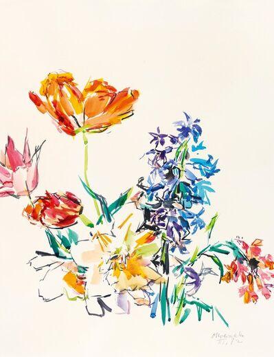 Oskar Kokoschka, 'Spring Flowers', 1972