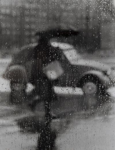 Sabine Weiss, 'La 2CV sous la pluie, Paris', 1957
