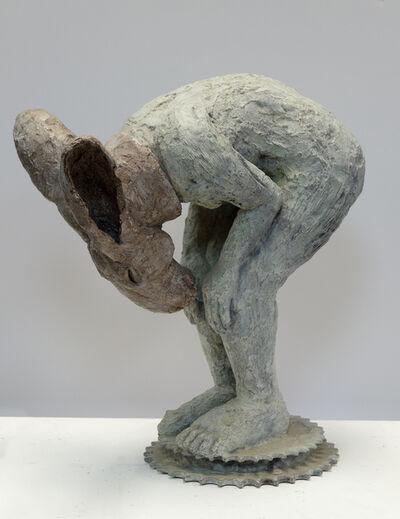 Sophie Ryder, 'Introspective, Bending, Maquette', 2003