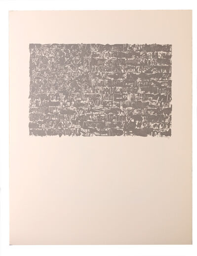 Jasper Johns, 'Flag III', 1986