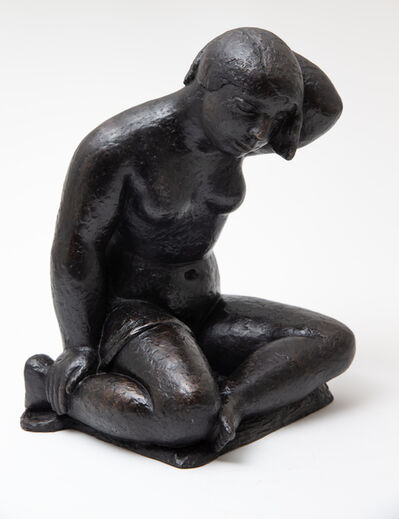 Frank Dobson, 'Woman Seated', after the 1926 original casting-cast in 2019 in an edition of 10 with permission from the Dobson estate