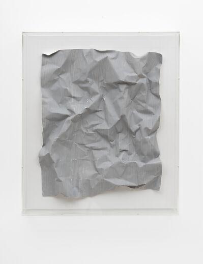 Özcan Kaplan, 'Papierarbeit (kiesgrau) #1, April 2018', 2018