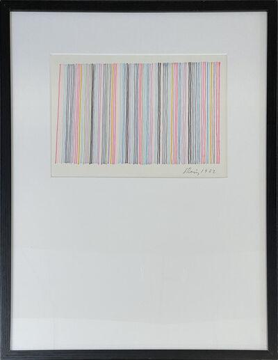 Gene Davis, 'Untitled (Stripe Composition)', 1982