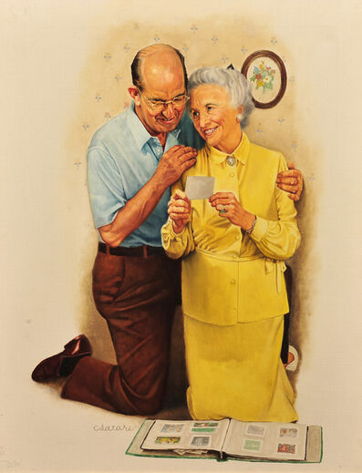 Joseph Csatari, 'The Old Couple', 20th Century