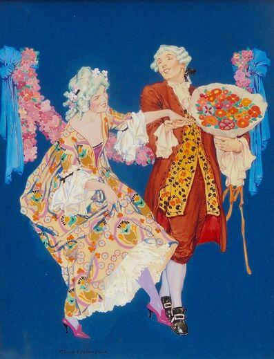 Clara Peck, 'Dancing Couple at the Ball, Theatre Magazine Cover'