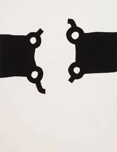 Eduardo Chillida, 'Competion and Harmony', 1988