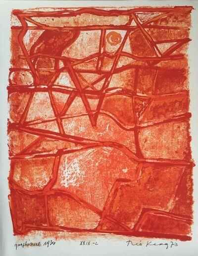 Théo Kerg, 'Graphisme', 1934-1973