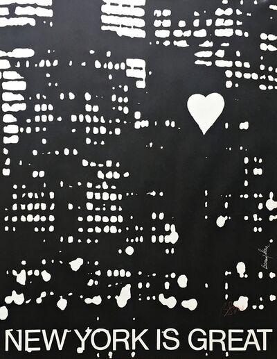 Bernard Stone, 'New York Is Great (Hand Signed)', 1972