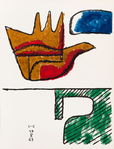 Le Corbusier, 'The Open Hand', 1963