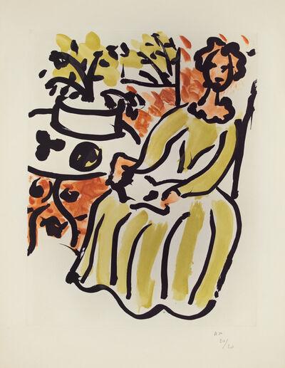 Henri Matisse, 'Marie-José en robe jaune', 1950