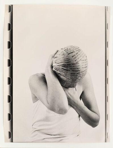 Renate Bertlmann, 'Hinter jeder Sehnsucht steht der Tod [Behind Each Longing Death], ', 1982