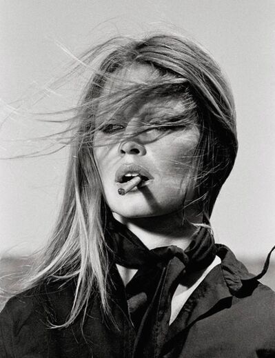Terry O'Neill, 'Brigitte Bardot in Spain - Bardot Cigar', 1971