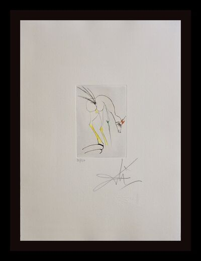 Salvador Dalí, 'Faust Vignettes La Biche-The Dog', 1969