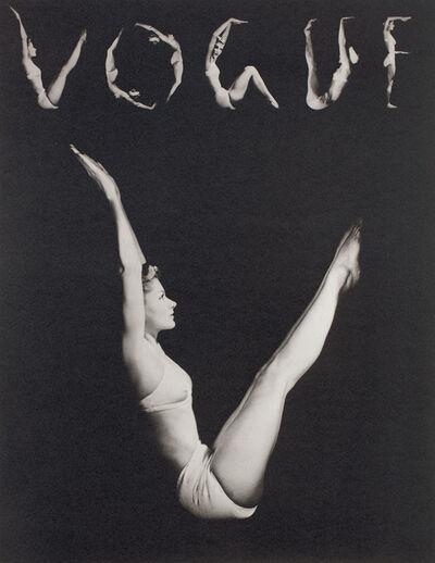 Horst P. Horst, 'V.O.G.U.E. (Lisa Fonssagrives-Penn), NY', 1940