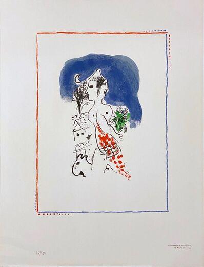 Marc Chagall, 'Untitled, From The Flight Portfolio ', 1969