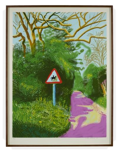 David Hockney, 'The Arrival of Spring in Woldgate, East Yorkshire in 2011 – 5 May 2011,', 2011