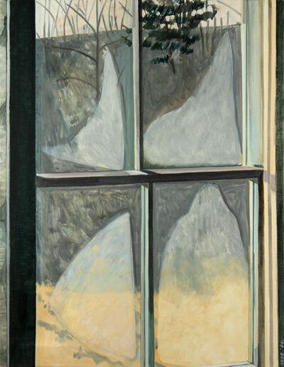 Lois Dodd, 'Steamed Window', 1980