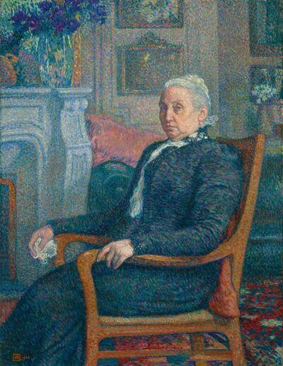 Théo van Rysselberghe, 'Sylvie Descamps Monnom', 1900